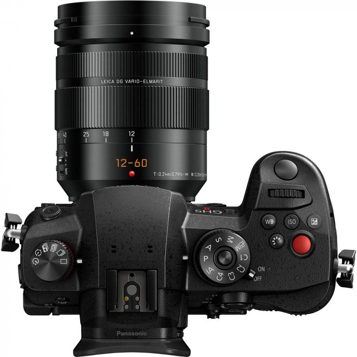 Panasonic  DC-GH5 Mark II negru  -  aparat foto mirrorless hibrid cu obiectiv Lumix G Vario 12-60mm f/3.5-5.6 ASPH. POWER O.I.S [4]