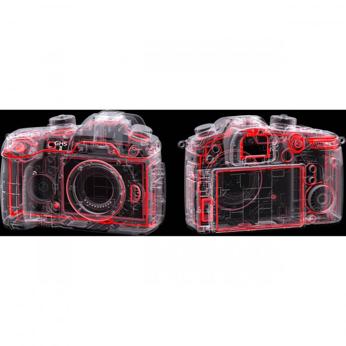 Panasonic  DC-GH5 Mark II negru  -  aparat foto mirrorless hibrid cu obiectiv Panasonic Leica DG Vario-Elmarit 12-60mm F/2.8-4 ASPH. Power O.I.S. [15]