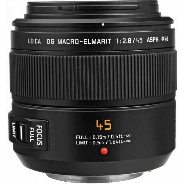 Panasonic Leica DG Macro-Elmarit 45mm f/2.8 ASPH. MEGA O.I.S. - montura M4/3 (MFT) 0