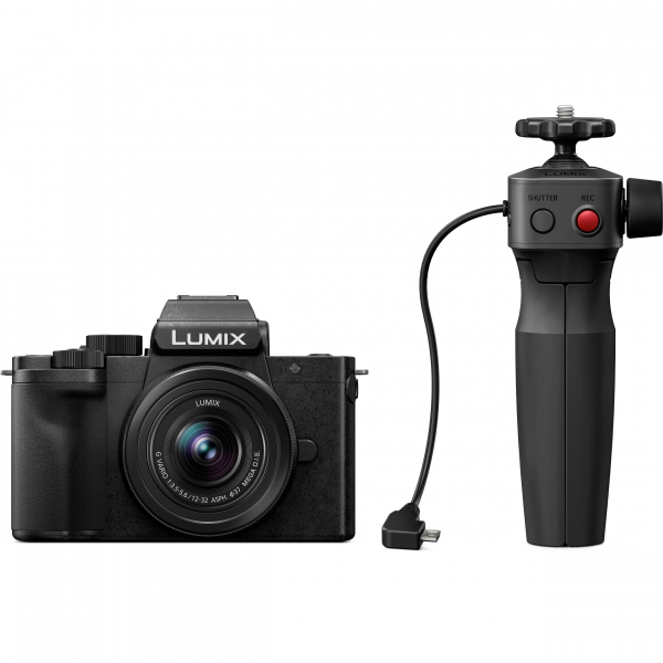 Panasonic Lumix DC-G100V kit G VARIO 12-32 mm f/3.5-5.6 ASPH. MEGA O.I.S. + mini trepied-maner DMW-SHGR1 2