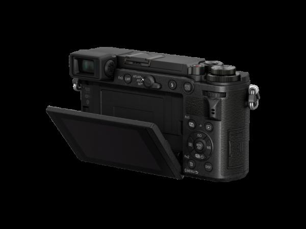 Panasonic Lumix DC-GX9K kit Lumix G Vario 12-32mm f/3.5-5.6 ASPH O.I.S. negru + grip Panasonic DMW-HGR2 [4]
