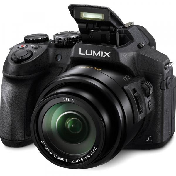 Panasonic Lumix DMC-FZ300 cu filmare 4K - black 1