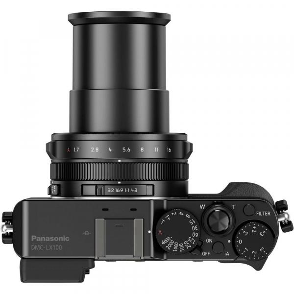 Panasonic Lumix  DMC-LX100 cu filmare 4K -  Black 5
