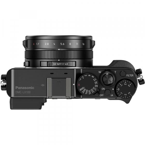 Panasonic Lumix  DMC-LX100 cu filmare 4K -  Black 4