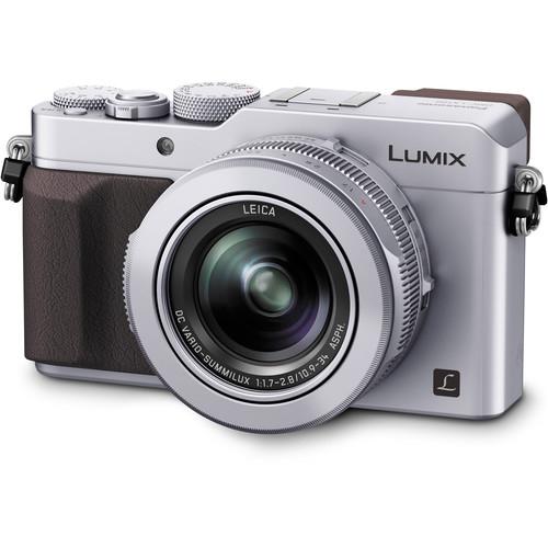 Panasonic Lumix  DMC-LX100 cu filmare 4K -  Silver 1
