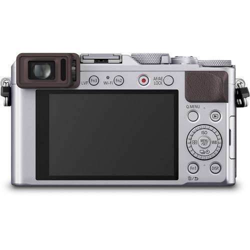 Panasonic Lumix  DMC-LX100 cu filmare 4K -  Silver 2
