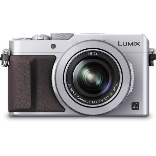 Panasonic Lumix  DMC-LX100 cu filmare 4K -  Silver 0