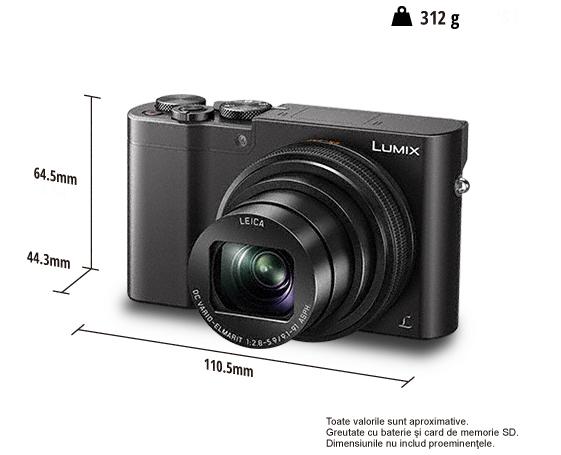 Panasonic Lumix DMC-TZ100 - black 6