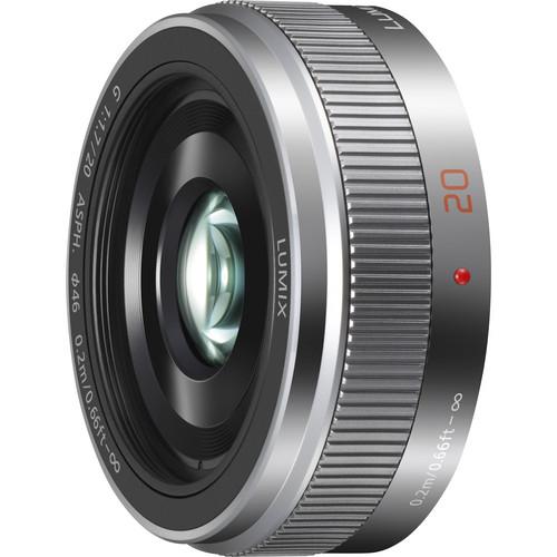 Panasonic Lumix G 20mm f/1.7 II ASPH argintiu - montura m4/3 (MFT) 1