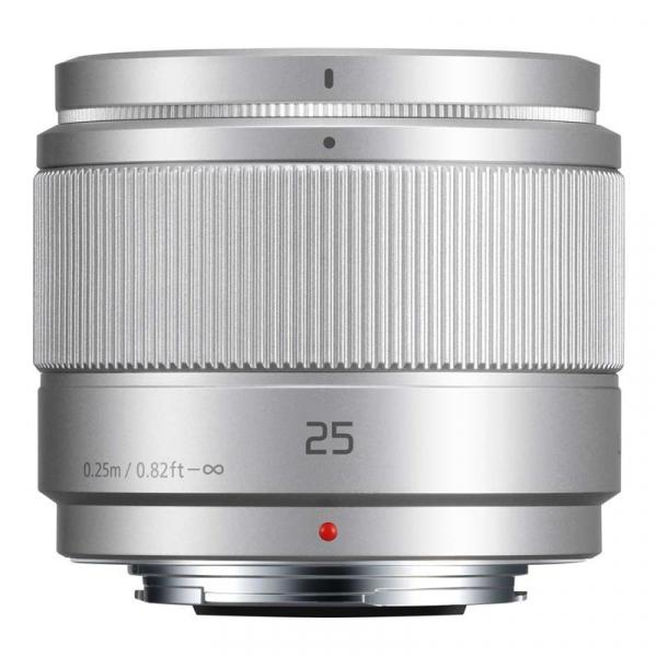 Panasonic Lumix G 25mm f/1.7 ASPH argintiu - montura m4/3 (MFT) 0