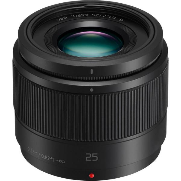 Panasonic Lumix G 25mm f/1.7 ASPH negru - montura m4/3 (MFT) 0