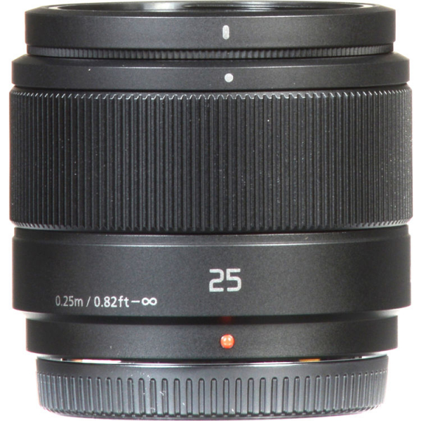 Panasonic Lumix G 25mm f/1.7 ASPH negru - montura m4/3 (MFT) 2