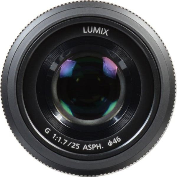 Panasonic Lumix G 25mm f/1.7 ASPH negru - montura m4/3 (MFT) 1