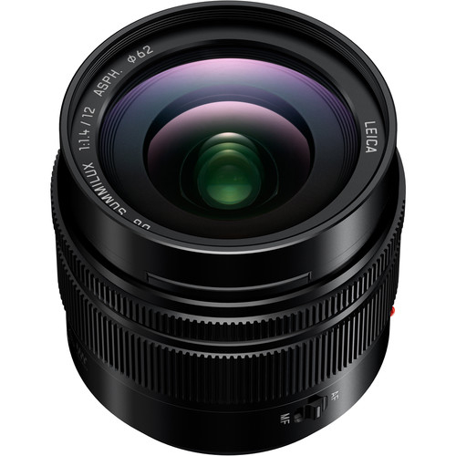Panasonic Lumix G Leica DG Summilux 12mm f/1.4 ASPH - montura m4/3 (MFT) 1