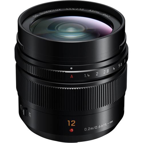 Panasonic Lumix G Leica DG Summilux 12mm f/1.4 ASPH - montura m4/3 (MFT) 0
