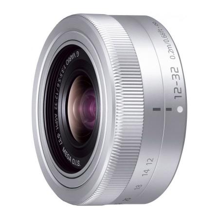 Panasonic Lumix G Vario 12-32mm f/3.5-5.6 ASPH OIS argintiu - montura m4/3 (MFT) /bulk 0