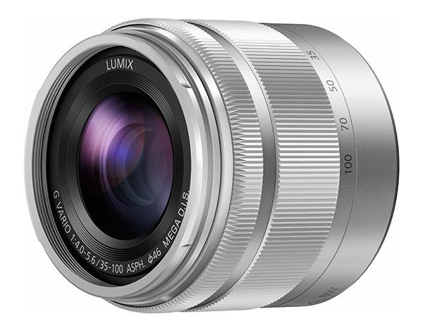 Panasonic Lumix G Vario 35-100mm f/4.0-5.6 ASPH Mega OIS argintiu - montura m4/3 (MFT) 0