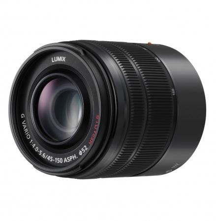 Panasonic Lumix G Vario 45-150mm f/4.0-5.6 ASPH MEGA O.I.S negru - montura m4/3 (MFT) 1
