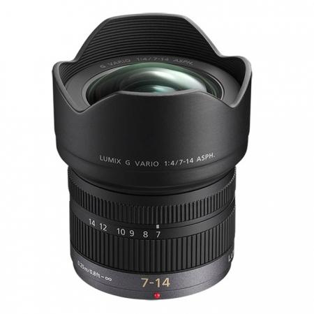 Panasonic Lumix G Vario 7-14mm f/4 , obiectiv m4/3 (MFT) 0