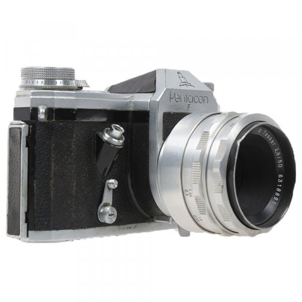 Pentacon F, Tessar2,8/50mm 2