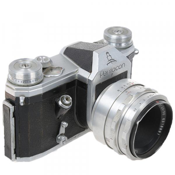 Pentacon F, Tessar2,8/50mm 5