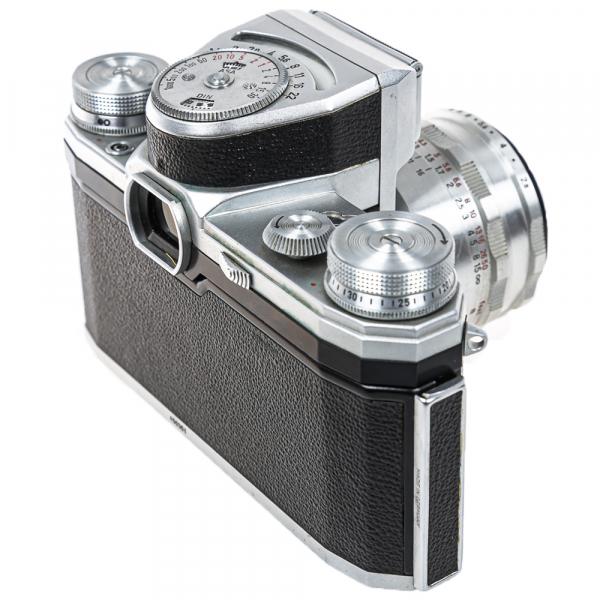 Pentacon FB, Tessar 2,8/50mm 10