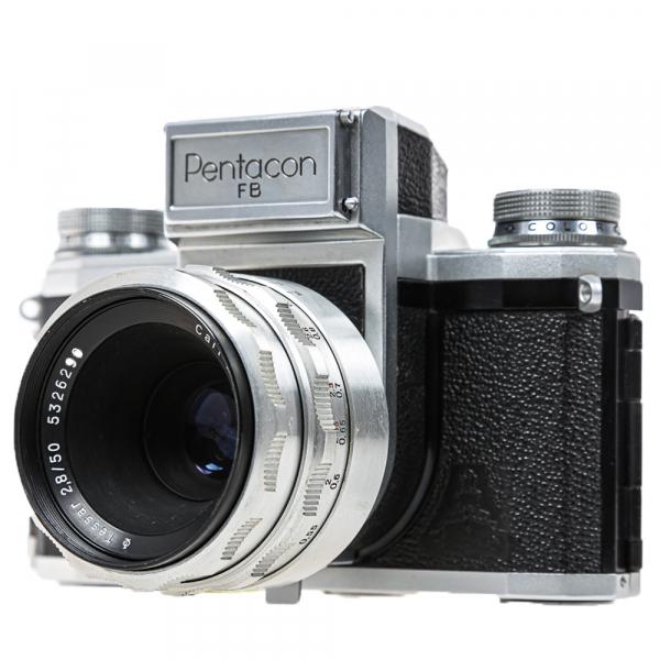 Pentacon FB, Tessar 2,8/50mm 0