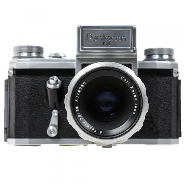 Pentacon FB, Tessar 2,8/50mm 1