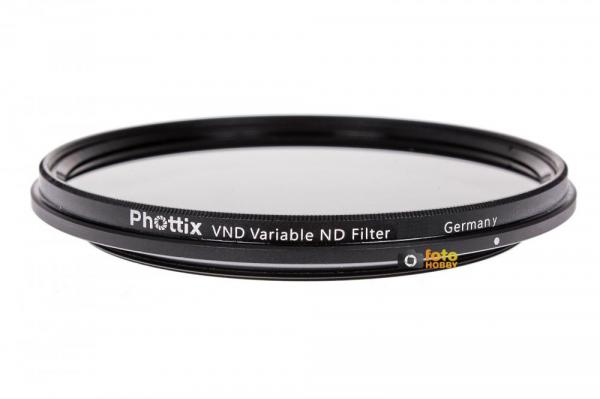 Phottix 58mm VND Densitate Neutra Variabila 1