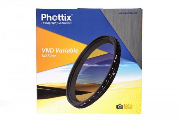 Phottix 72mm VND Densitate Neutra Variabila 0