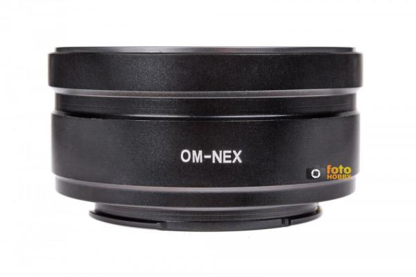 Phottix Adaptor baioneta Sony E (NEX) => obiectiv Olympus OM [0]