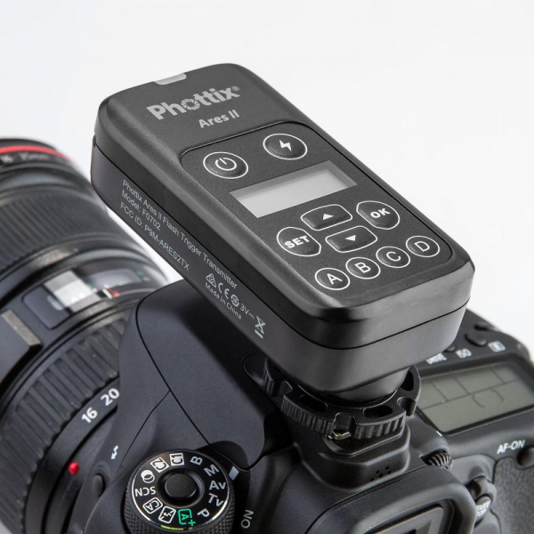 Phottix Ares II - kit transmitator si receptor wireless 1