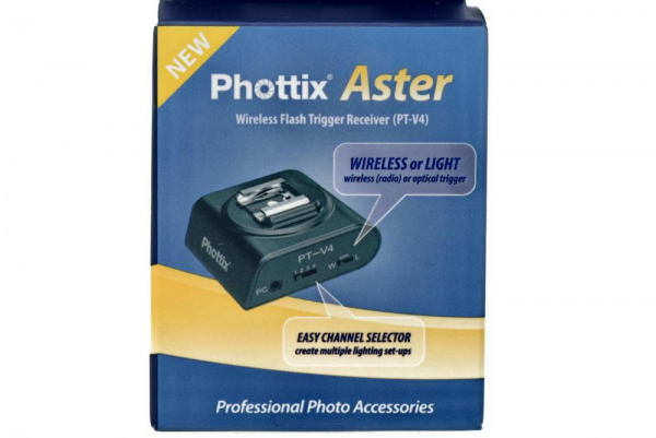 Phottix Aster PT-V4 receptor  radio si optic 6