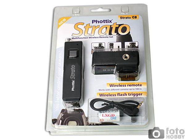 Phottix C8  Strato , telecomanda radio pt Canon 5D Mk II, 5D Mk III, 6D, 7D, 50D, 40D, 30D [0]