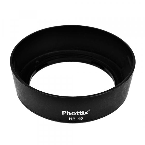 Phottix HB-45 - parasolar obiective Nikon tip HB-45 (S.H.) 0
