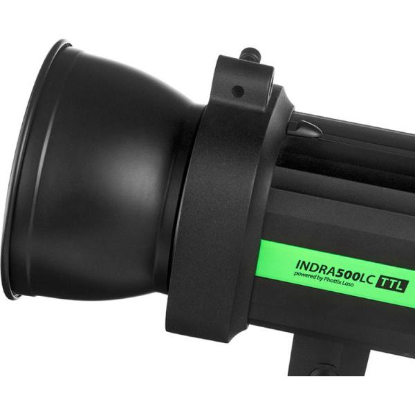Phottix Indra500LC TTL (Canon) - blitz studio 500W cu acumulator 2