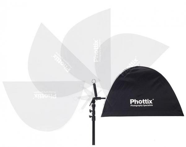 "Phottix Multi Boom 16"" (41cm) -  suport pentru 2 blitz-uri 6"