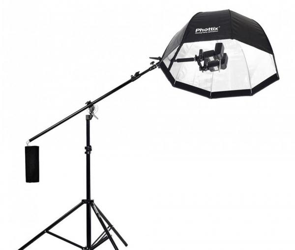 "Phottix Multi Boom 16"" (41cm) -  suport pentru 2 blitz-uri 5"