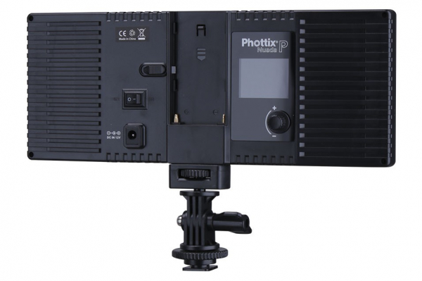 Phottix Nuada P - Lampa video LED 2