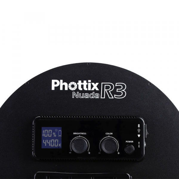 Phottix Nuada R3 - Lampa video LED 2