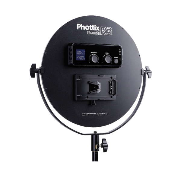 Phottix Nuada R3 - Lampa video LED 1