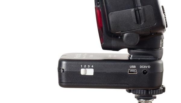 Phottix Odin TTL flash receptor pentru Canon 3