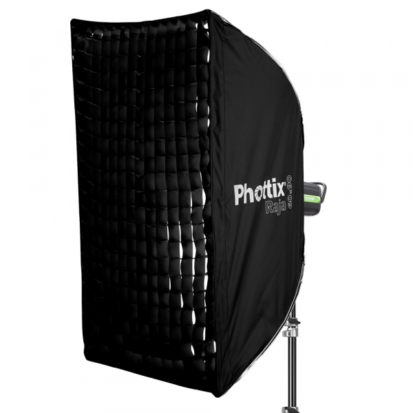 Phottix Raja Quick-Folding Softbox 60x90cm + grid + montura Bowens 0