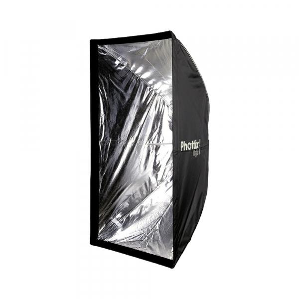 Phottix Raja Quick-Folding Softbox 80x120cm + grid + montura Bowens 1