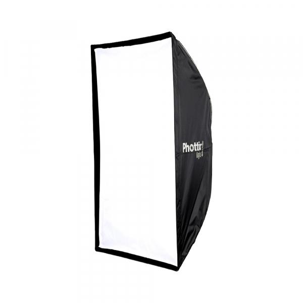 Phottix Raja Quick-Folding Softbox 80x120cm + grid + montura Bowens 0