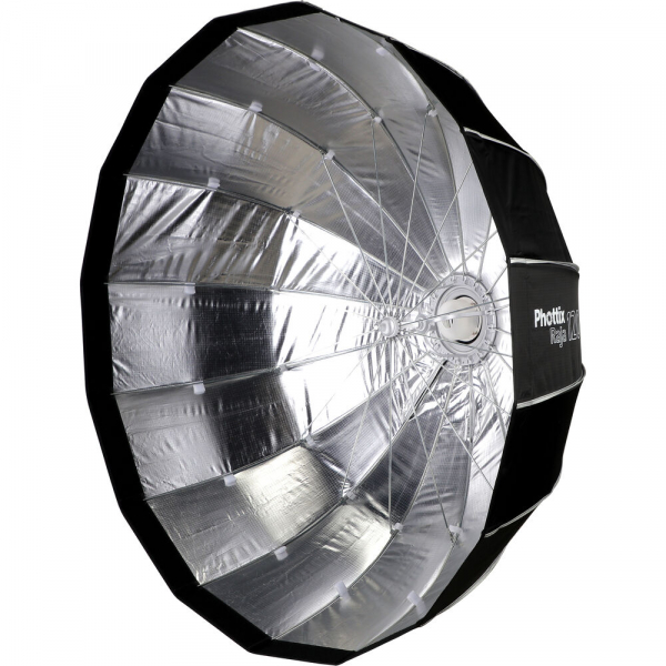 Phottix Raja Quick-Folding Softbox parabolic 120cm + montura Bowens 2
