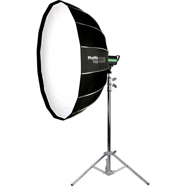 Phottix Raja Quick-Folding Softbox parabolic 120cm + montura Bowens 3