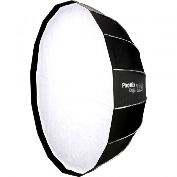 Phottix Raja Quick-Folding Softbox parabolic 120cm + montura Bowens 0