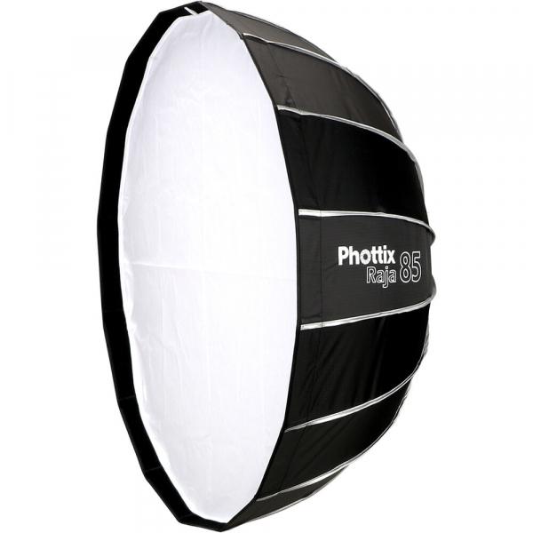 Phottix Raja Quick-Folding Softbox parabolic 85cm + montura Bowens [0]