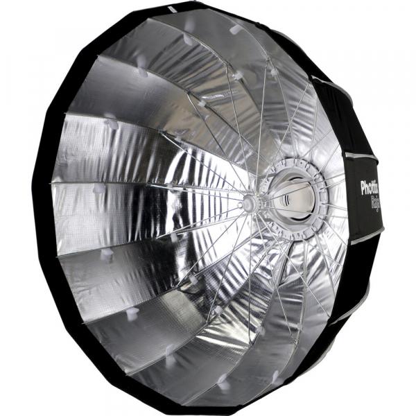 Phottix Raja Quick-Folding Softbox parabolic 85cm + montura Bowens [2]